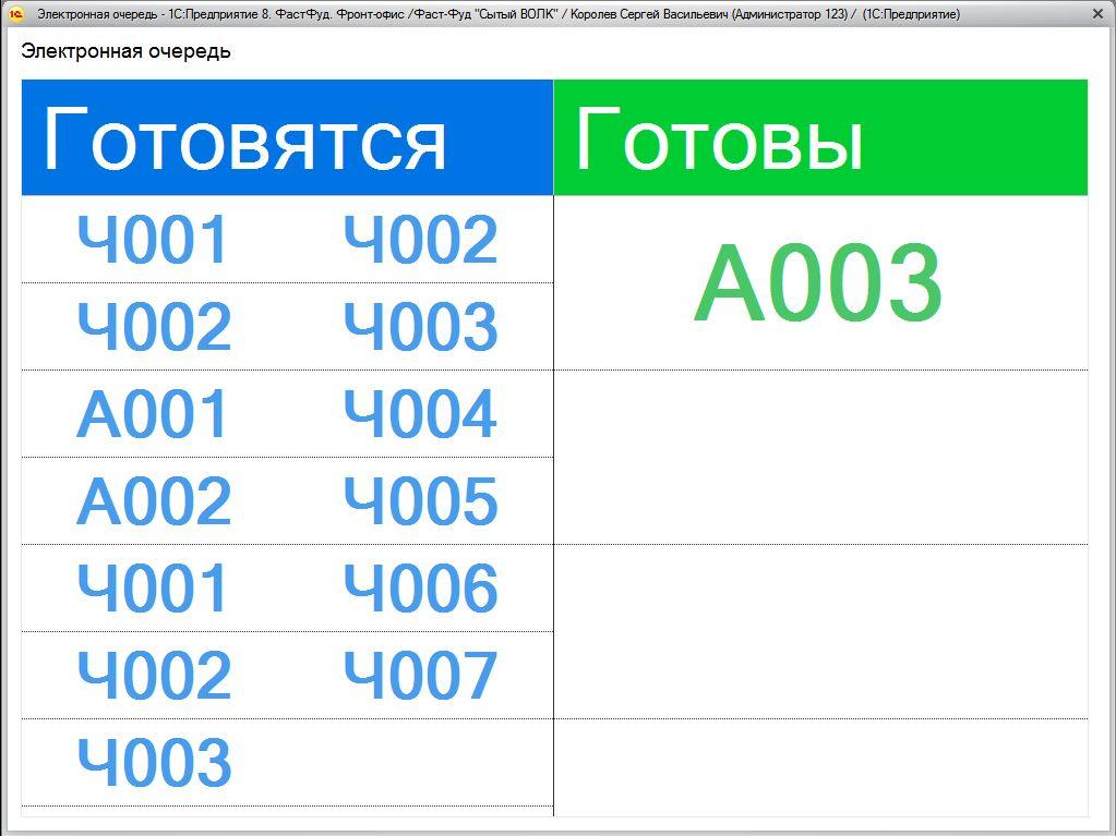 1С ДНР, 1С Донецк, Электронная очередь